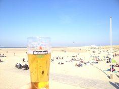 Biertje op de Brouwersdam