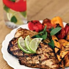 Low Carb Grilled Mojito Chicken