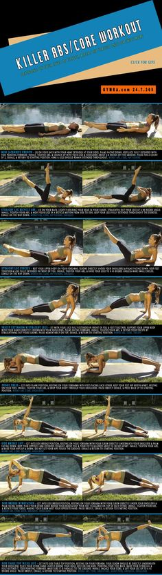 Killer Abs/Core Workout