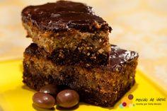 bolocafe chocolate   Bolo húngaro de café e chocolate