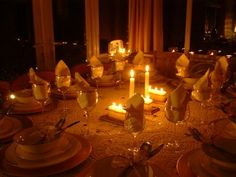 candlelight dinner - Google Search