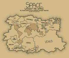 Superficie solida de los planetas mapeadas