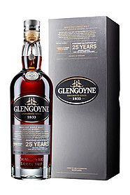 Glengoyne 25 year old single malt whisky available from Whisky Please.