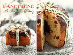 Panettone with chocolate filling by Irina Kupenska, via Flickr