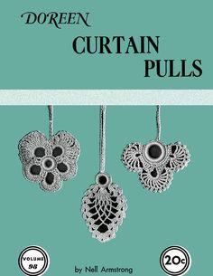 Curtain Pulls | Volume 98 | Doreen Knitting Books