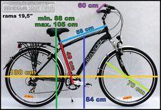 Znalezione obrazy dla zapytania rower wymiary