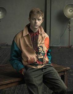 Actor Dane DeHaan For Prada's Spring/Summer 2014 Campaign