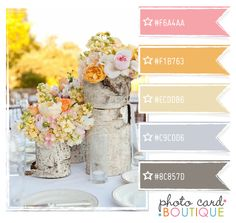 Color Crush Palette · 7.10.2011 Beachy ...just add pops of brighter pinks and yellows!