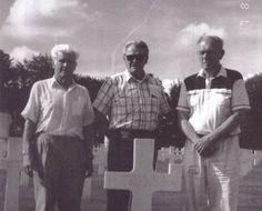 Lipton Malarkey and Winters at Skip Muck's Grave