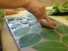 Lots of inspiring project ideas from Lakeside--some applicable to upper intermediate. Impressing leaves on clay