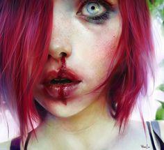 04he New Hauntingly Beautiful Portraits by Elena Sai