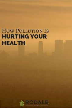 As if pollution on its own wasn't troubling enough, now it's making us even sicker and worsening your allergies.