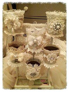 ❤°(¯`★´¯)Shabby Chic(¯`★´¯)°❤... Flower Station: