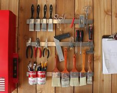 Before buying expensive organization systems for your garage, try these upcycled storage solutions that breathe new purpose into items you may already own.