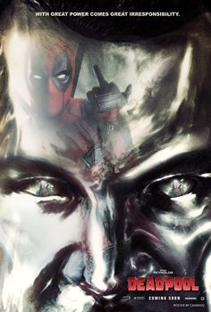 deadpool movie poster - When you watch the movie you'll get it.