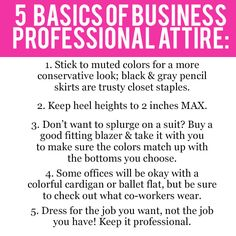 Five easy rules to follow when determining what to wear for an interview.