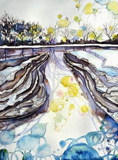 Landscape Illuminated: Philippa Jones 'This River flows with the tides of far spheres.'