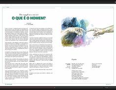 """Check out new work on my @Behance portfolio: """"Ilustração """"O que é o Homem"""""""" http://be.net/gallery/49521943/Ilustracao-O-que-o-Homem"""