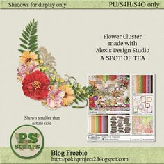 Designer freebie gift featuring Alexis Design Studio A SPOT OF TEA available at Scrapbook Graphics http://shop.scrapbookgraphics.com/A-Spot-of-Tea-Bundle.html Collect the freebie at my blog http://pokisproject2.blogspot.com/2016/02/designer-freebie-2222016.html