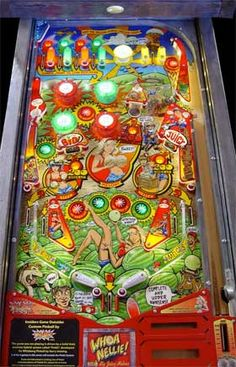 Whoa Nellie! Pinball Machine For Sale Stern Whizbang Big Juicy Melons