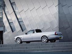 fake Jaguar-XJ pick-up