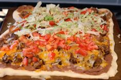 The Chronicles of Ruthie Hart: Taco pizza