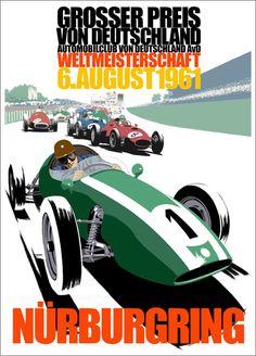 1961 German Grand Prix (Grosser Preis von Deutschland) - Nürburgring