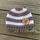 Ravelry: Striped Newborn Hat pattern by Andrea Womack