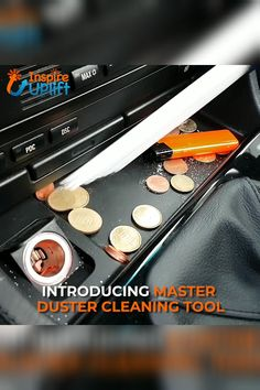 MasterDuster Cleaning Tool 😍 The MasterDuster Cleaning Tool is a vacuum attachment that's ideal for getting to those hard to reach places and also the delicate places. It's perfect for getting rid of dust in places you thought were impossible to use a v House Cleaning Tips, Car Cleaning, Diy Cleaning Products, Cleaning Solutions, Cleaning Hacks, Simple Life Hacks, Useful Life Hacks, Gadgets And Gizmos, Cool Gadgets