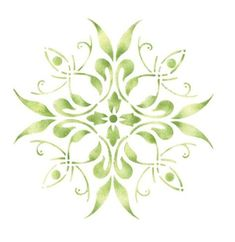Wall Stencil Patterns, Stencil Wood, Stencil Painting On Walls, Leaf Stencil, Stencil Designs, Fabric Painting, Stenciling, Flower Stencils, Craft Patterns