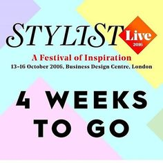 4 weeks to go until we will be exhibiting at Stylist Live in London!! Come and visit our team on stand M73  #stylistlive #stylist #london #bdc @stylistmagazine @stylistlive