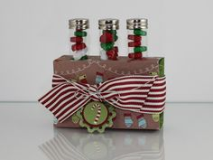 Can't wait to make these cute Test Tube Treat Holders for fun gifts!