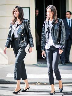 How to Wear Black Jeans, Now That They're Popular Again via @WhoWhatWearUK