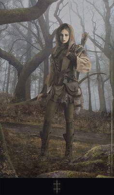 Through the Woods, Eve Ventrue on ArtStation at http://www.artstation.com/artwork/through-the-woods-e73e0536-c316-47fd-83e3-9e6af674afc0