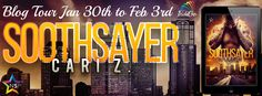 Fangirl Moments And My Two Cents @fgmamtc: Soothsayer by Cari Z Tour