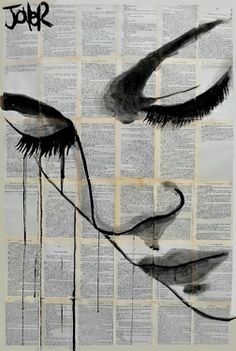 "Saatchi+Art+Artist+Loui+Jover;+Drawing,+""emotion""+#art"