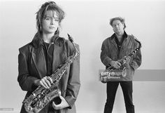 Candy Dulfer And Hans Dulfer