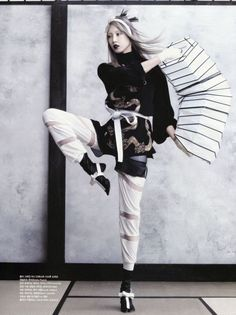 Soo Joo by Hyea-Won Kang for Vogue Korea June 2013 9