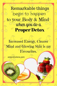 Gently Detoxing connects the Body and Mind, and yields amazing Results! How To Increase Energy, Glowing Skin, Detox, Mindfulness, Weight Loss, Amazing, Board, Losing Weight, Consciousness