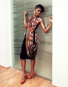 african dress! #fashion is