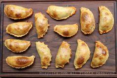 Empanadas Mendocinas – Argentinian Empanadas – Laylita's Recipes Chicken Empanadas, Empanadas Recipe, Pain Artisanal, Bread Recipes, Cooking Recipes, Easy Recipes, Recipe 30, Artisan Bread, Stuffed Hot Peppers