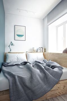 boldempire:  INTERIOR AMP by INT2 Architecture//Bold Empire | Small bedroom |life1nmotion