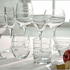 Spiral Stemware & Barware By Rolf Glass