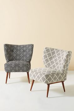 Kursi Petite Accent Chair by Anthropologie in Assorted Size: All, Chairs Hanging Furniture, Home Furniture, Furniture Design, Hanging Chair, Modern Furniture, Small Accent Chairs, Accent Chairs For Living Room, Small Chairs, White Accent Chair