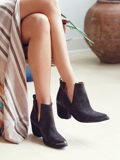 Rust Suede Hunt The Plains Boot at Free People Clothing Boutique