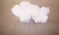 How To Make DIY Cloud Lights Want to make cool DIY room decor? This fun and easy DIY idea is a cool project for teens to make with string lights and a couple of paper lanterns - we think it is really awesome. Check out the step by step tutorial to see how easy it is to make this awesome DIY for yo