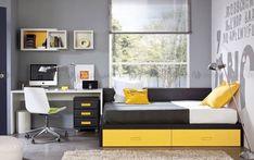 Youth rooms - Bedrooms For Girls Teen Bedroom Designs, Kids Bedroom, Home Office Design, Home Office Decor, Jugendschlafzimmer Designs, Hypebeast Room, Youth Rooms, Single Bedroom, Baby Room Design