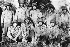 Soldiers from the 442nd Japanese American All Volunteer Regiment.