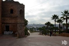 Outside the Kasbah des Oudaias in #Rabat - #Morocco