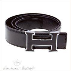 I say skip the logos at work. Men's belt from Hermes